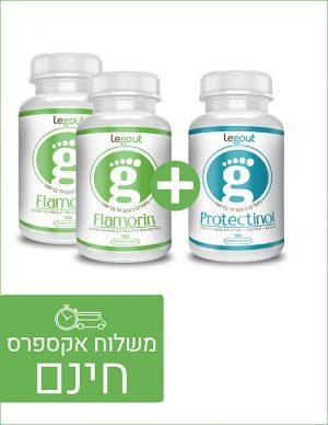 מבצע לטיפול בגאוט, 2 פלמורין 1 פרוטקטינול