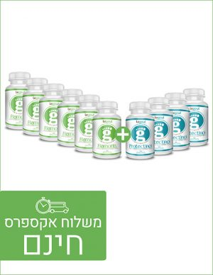 מבצע טיפול מונע ל-3 חודשים פלמורין ופרוטקטינול לטיפול בגאוט